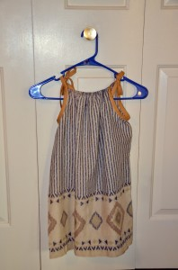 Orphan Pillow dress x